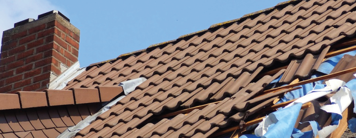 Storm Damage Roof Repairs in Aldershot, Farnham, Farnborough & Camberley